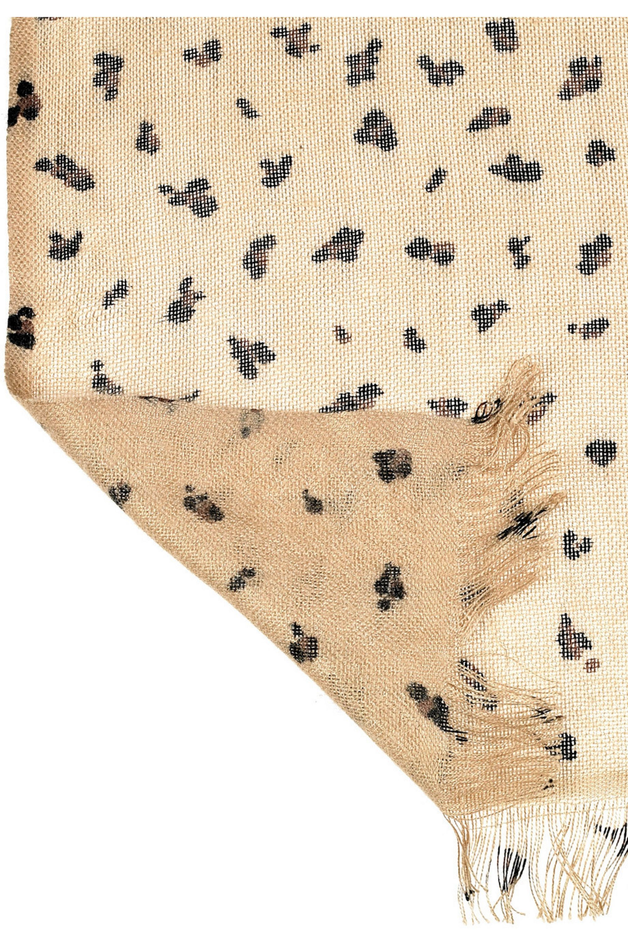 Mulberry Leopard-print scarf