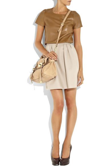 Alexa sparkle tweed leather bag 10ddd3e0041a0