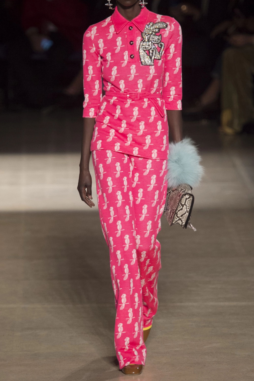 Miu Miu Jacquard-knit wool-blend flared pants