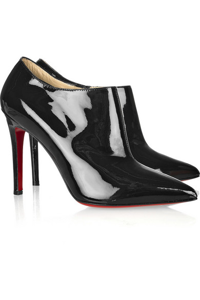 613d17084d2 Christian Louboutin. Dahlia 100 patent leather ankle boots