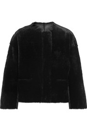 Maje Reversible shearling jacket