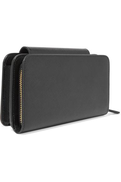 Prada Smartphone-Hülle aus strukturiertem Leder