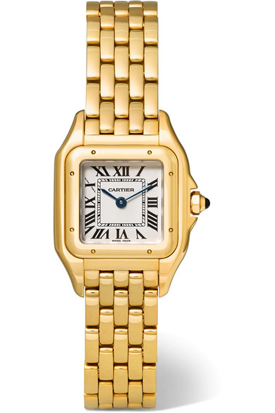 Cartier - Panthère De Cartier Small 18-karat Gold Watch - one size