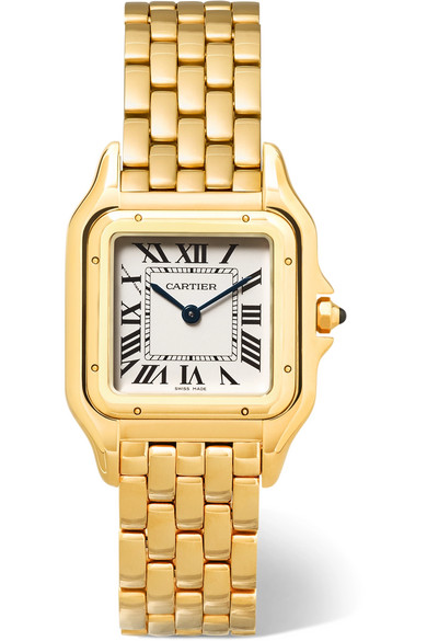 Cartier - Panthère De Cartier Medium 18-karat Gold Watch - one size