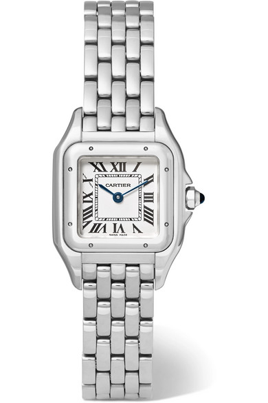 Cartier - Panthère De Cartier Small Stainless Steel Watch - Silver