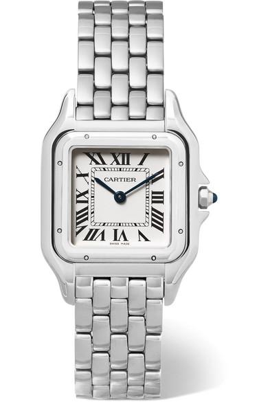 Diamond Panther Motif Cartier Watch