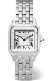 Panthère de Cartier medium stainless steel watch