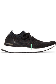 adidas Originals UltraBOOST Uncaged rubber-trimmed Primeknit sneakers