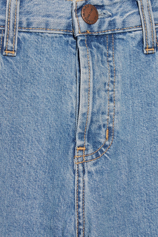 Current/Elliott The Original Straight high-rise jeans