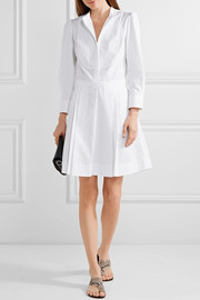 Jean cotton-poplin mini dress