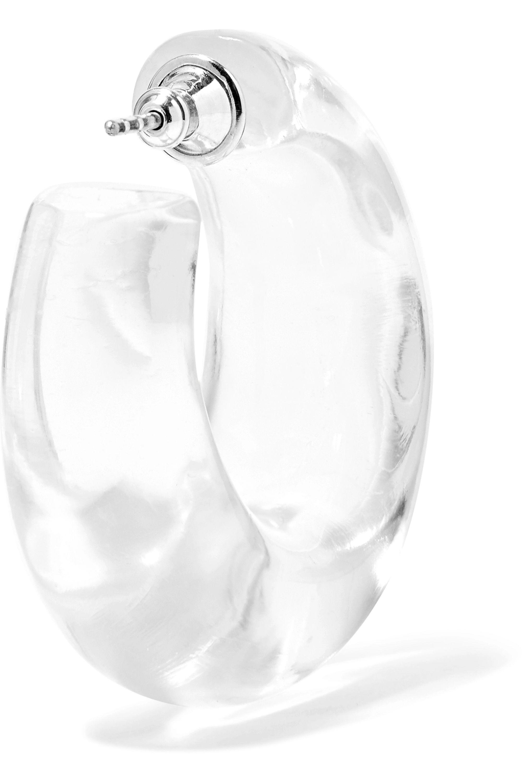 Sophie Buhai Lucite hoop earrings