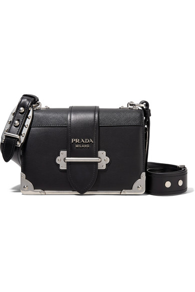 b1699ecaba6c Prada | Cahier leather shoulder bag | NET-A-PORTER.COM