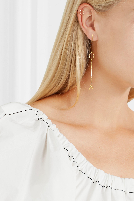 SARAH & SEBASTIAN 14-karat gold earring