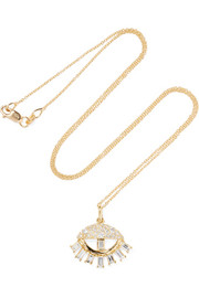 Ileana Makri Sleepy Eye 18-karat gold diamond necklace