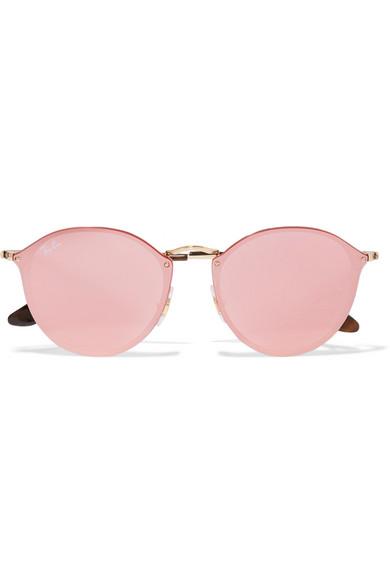 ray ban sonnenbrille verspiegelt rosa