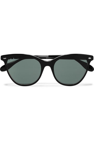 e0a8576b3ee37 Ray-Ban. Cat-eye acetate sunglasses