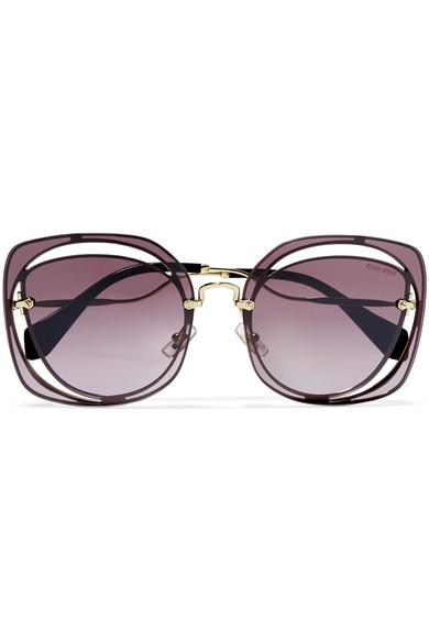 Miu Miu Sunglasses Purple