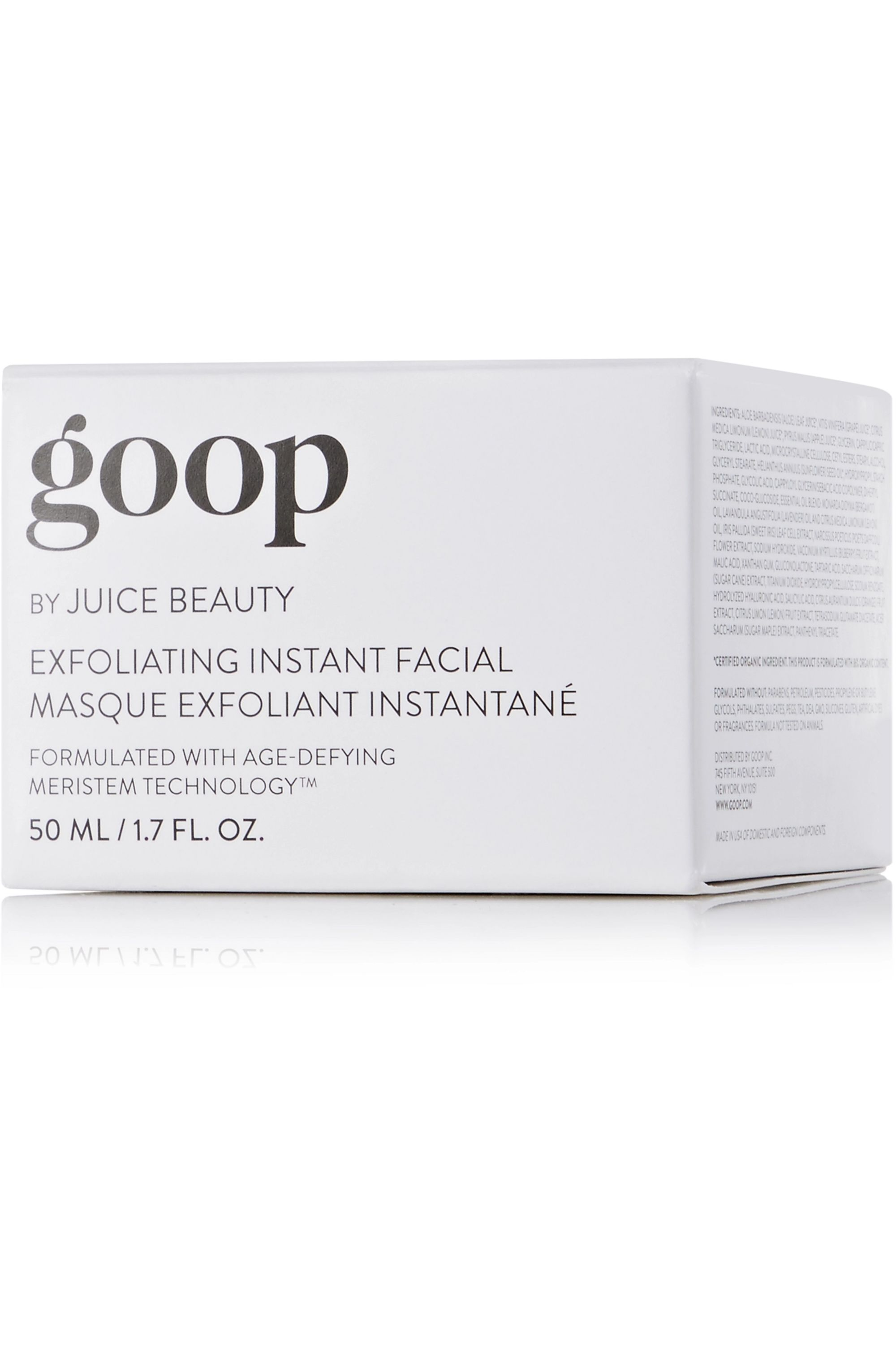 goop Exfoliating Instant Facial, 50ml