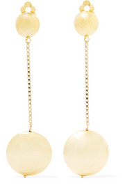 Rosantica Incanto gold-tone clip earrings