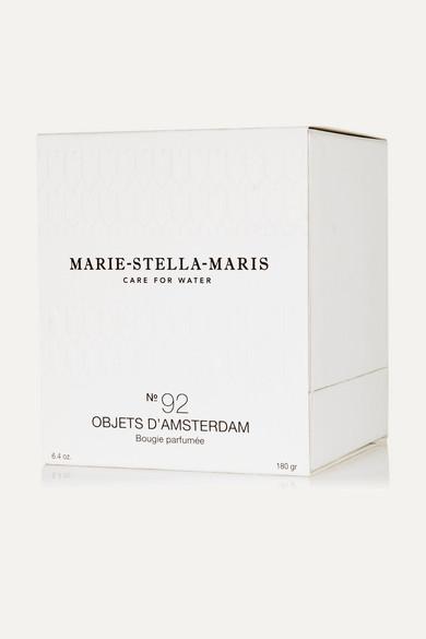 marie stella maris objets d 39 amsterdam scented candle 180g net a porter com. Black Bedroom Furniture Sets. Home Design Ideas