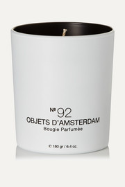 No.92 Objets d' Amsterdam Scented Candle, 180g