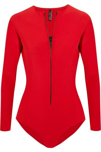 Lisa Marie Fernandez - Farrah Neoprene Swimsuit - Red