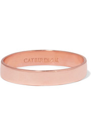 Tomboy 14-karat rose gold ring