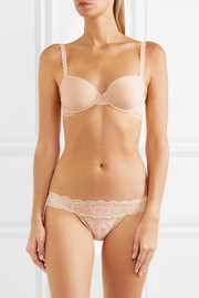 Never Say Never Minikini stretch-lace briefs