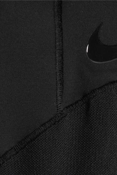Nike Power Fly Lux Leggings aus Dri-FIT-Stretch-Material mit Mesh-Einsätzen