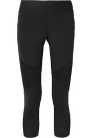 Nike Power Fly Lux mesh-paneled Dri-FIT stretch leggings