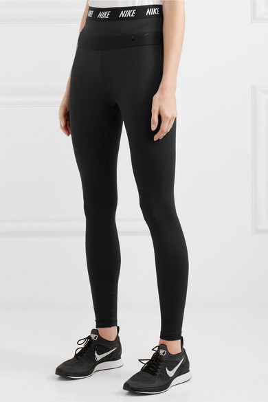 Nike Zonal Strength Leggings aus Stretch-Jersey