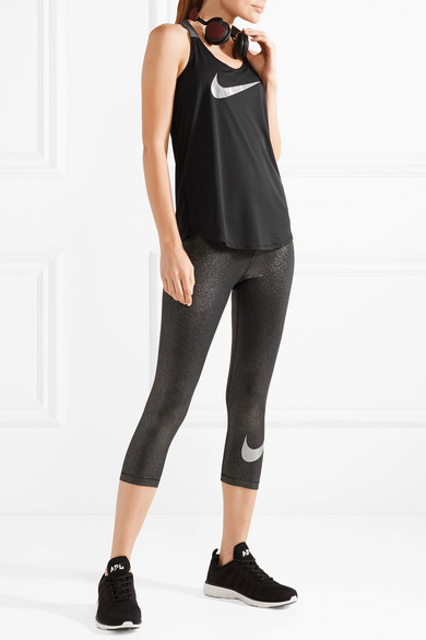 Nike Sparkle Elastika Tanktop aus Dri-FIT-Stretch-Material