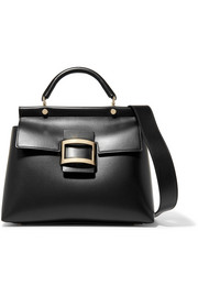 Roger Vivier Viv Cabas small leather tote