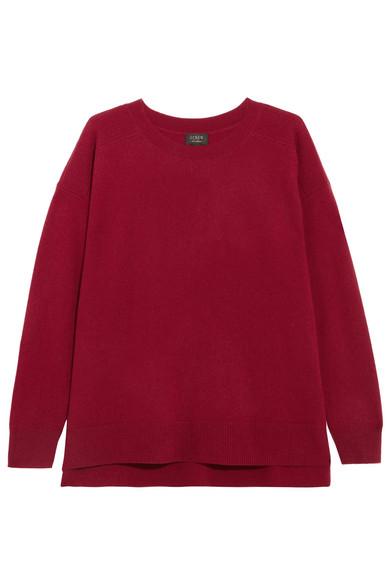 J.Crew - Cashmere Sweater - Burgundy