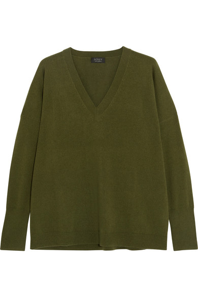 J.Crew - Cashmere Sweater - Green