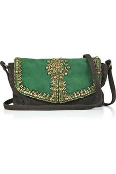 Antik Batik|Emily embellished suede bag|NET-A-PORTER.COM from net-a-porter.com