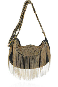 Antik Batik | Friel chain-embellished suede bag | NET-A-PORTER.COM from net-a-porter.com