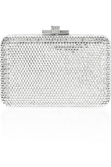 Judith Leiber | Small Airstream fine crystal-embellished clutch | NET-A-PORTER.COM from net-a-porter.com