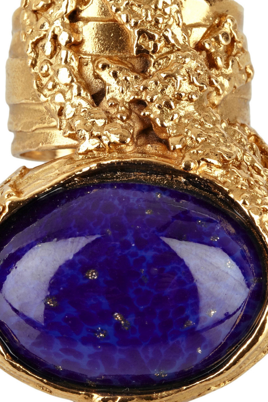 Yves Saint Laurent Arty metal ring