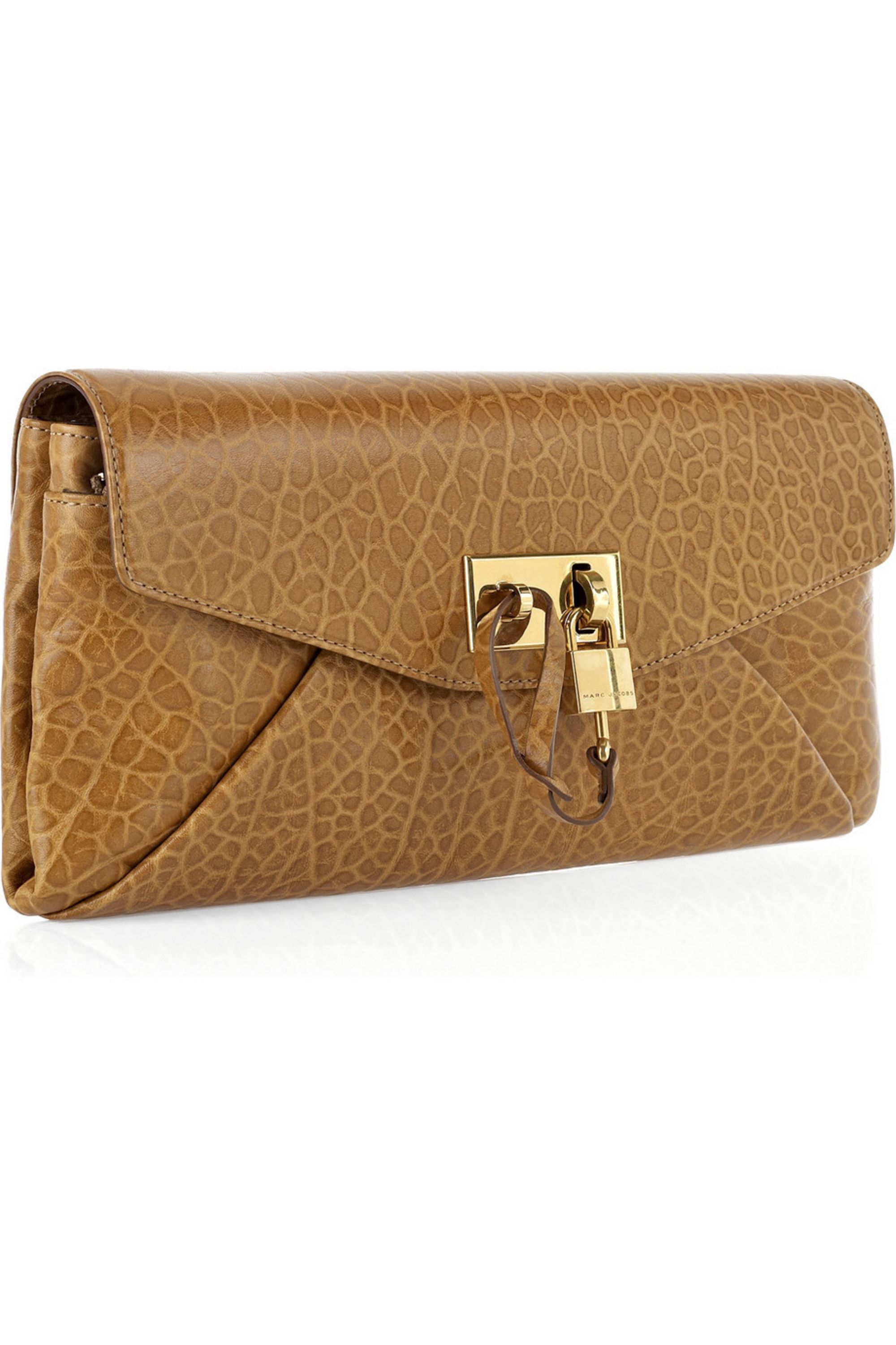 Runway Marc Jacobs Leather clutch