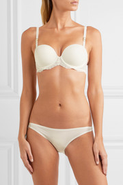 Stella McCartney Smooth & Lace stretch-jersey and lace briefs