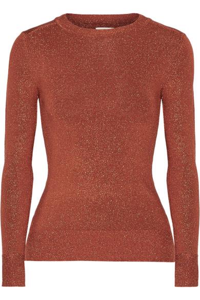 JoosTricot - Lurex Sweater - Bronze