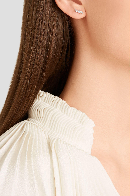 Suzanne Kalan Ohrringe aus 18Karat Weißgold mit Diamanten