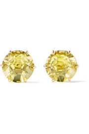 Ippolita Rock Candy 18-karat gold citrine earrings