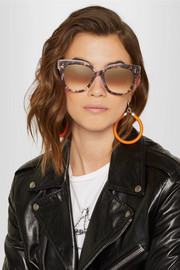 Daytripper square-frame acetate sunglasses