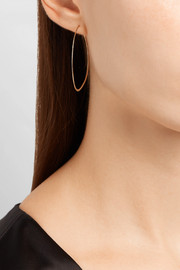Melissa Joy Manning 14-karat gold hoop earrings