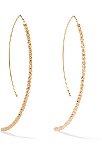 Mizuki - 14-karat Gold Earrings