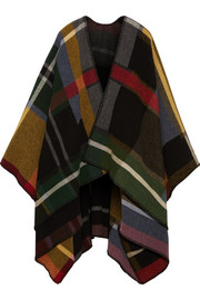 Tableau plaid wool wrap