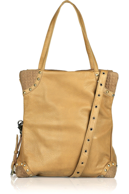 Sand Cici Three Way Leather Bag Sara