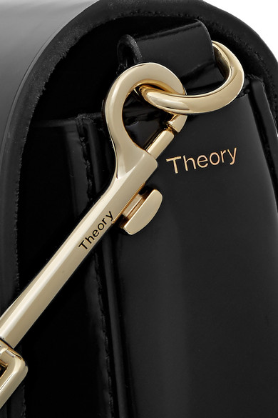 Theory Perry Schultertasche aus Leder